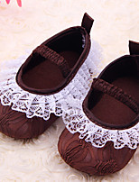 Baby Shoes Casual Fabric Flats Tan