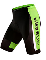 WOSAWE Men's Summer Bike Cycling Quick Dry Breathable MTB Shorts with Professional 4D Gel Padded