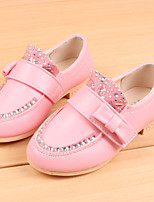 Girls' Shoes Outdoor/Dress/Casual Round Toe/Closed Toe Faux Loafers Blue/Pink
