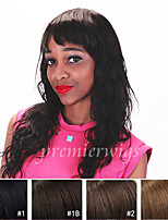 Glueless Indian Virgin Remy Lace Front Wigs With Baby Hair For Black Women Natural Wave Human Hair Wigs