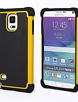 Pour Samsung Galaxy Note Antichoc Coque Coque Arrière Coque Armure Polycarbonate pour Samsung Note 4 Note 3