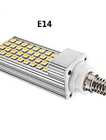 Lampadine a pannocchia 36 SMD 5050 E14/G24 8 W Intensità regolabile 600 LM Bianco caldo/Luce fredda AC 85-265 V