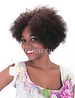 100% non transformés Machine indien vierge fait perruques perruques courtes sans colle pour les femmes noires