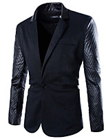 Men's Casual Long Sleeve Regular Blazer