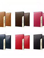 cuir de luxe ultra-mince couverture intelligente de cas de support pour iPad 2 (air couleurs assorties)