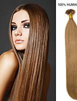 22inch remy ongles cheveux pointe 0.6g / de extensions de cheveux humains 16 couleurs pour la beauté des femmes