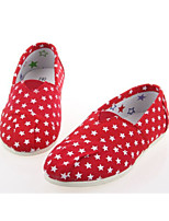 Baby Shoes Outdoor/Casual Canvas Loafers Blue/Red