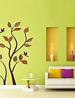 Wall Stickers Wall Decals Style Cartoon Tree PVC Wall Stickers