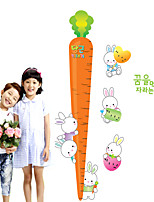 Wall Stickers Wall Decals Style Radish Measure Your Height PVC Wall Stickers