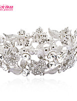 Neoglory Jewelry Crystals Tiaras Mini Crowns Bridal Hair Accessories for Little Girl Wedding Pageant Hair Jewelry