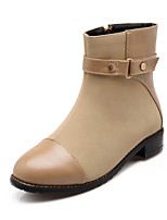 Women's Shoes   Fashion Boots Boots Outdoor / Office & Career / Casual Chunky Heel OthersBlack / Brown /  &H-3