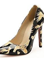 Women's Shoes Stiletto Heel Heels Pumps/Heels Casual Black/White