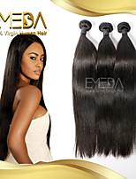 3Pcs/Lot Brazilian Virgin Hair Straight 100% Human Hair Extension Prom Queen Hair Products Brazilian Hair Weave Bundles