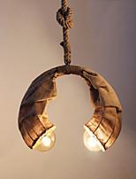 Pendant Lights Traditional/Classic/Retro Bedroom/Dining Room/Study Room/Office Metal
