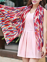 Women Cute Chiffon Color Scarves Long Scarf Air Conditioning Shawl