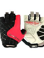 Basecamp Silica GeL Lycra Soft Mat Short Ride Bycicle Semi-finger Gloves Red BC-202