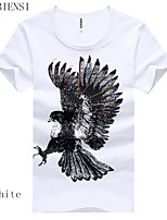 2015 summer new men's youth t-shirt short sleeve T-shirt printing student leisure fashion tide tide