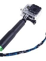 18cm-48cm Adjustable Handheld Extension Pole Monopod for Gopro HD Hero1 Hero2 Hero3 Hero3+ Hero4 Camera Green