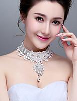 Korean Style Rhinestones/Titanium Wedding/Party Necklace