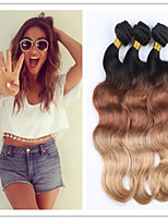 3Pcs/Lot Body Wave 8a Unprocessed Virgin Hair Brazilian Virgin Hair Human Hair Weave,No Tangle