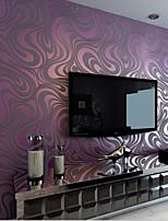 ny regnbue ™ moderne tapet art deco 3d enkel stil vægbeklædning ikke-vævet stof væg kunst