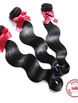 armadura del pelo evet en venta onda del cuerpo humano del pelo 3 paquetes de extensión pelo malasio productos para el cabello de grado 6a