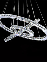 LED Crystal Ceiling Light Pendant Chandelier Lights Lighting Fixtures with LED Warm and LED Cool White D405060cm CE UL