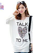 Waboats Women Printed Long Sleeve Blouse Fashion T Shirt