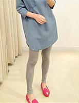 Women's Sexy Bodycon Plus Sizes Stretchy Opaque Maternity Skinny Pants Elastic