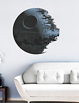 Wall Stickers Wall Decals, 3D Star Wars Death Star PVC Wall Sticker