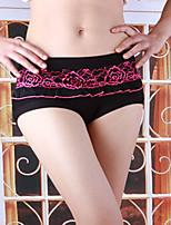 Women Lace/Polyester/Bamboo Fiber Ultra Sexy Panties Women's Breathable Underwear
