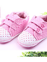 Baby Shoes Casual Fabric Fashion Sneakers Pink/Red