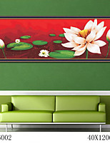 DIY Digital Oil Painting  Large Size Without Frame  Family Fun Painting All By Myself     Lotus Leaf Fluttering 6002