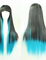 Japan And South Korea Explosion Models of High-Quality High-Temperature Wire Color Long Straight Hair