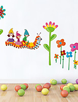 Wall Stickers Wall Decals Style Cartoon Puzzle PVC Wall Stickers