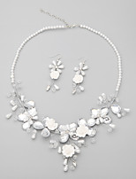 Child's/Women's Alloy/Rhinestone/Imitation Pearl Jewelry Set Imitation Pearl/Rhinestone