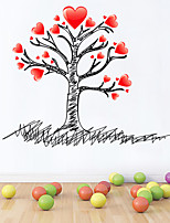 Wall Stickers Wall Decals Style Love Tree PVC Wall Stickers
