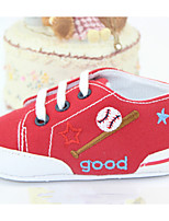 Baby Shoes Casual Fabric Fashion Sneakers Blue/Red