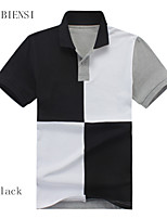 New summer men's Polo Shirt male Polo Shirt Short Sleeved T-shirt Collar Shirt Youth Polo simple small