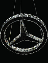 Chandeliers Crystal/LED Modern/Contemporary Living Room/Bedroom/Dining Room Metal
