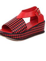 Women's Shoes  Wedge Heel Wedges Sandals Outdoor Red