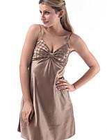 Vêtement de nuit Femme Robe de chambre/Ultra Sexy Polyester