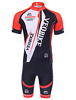 Men's Summer Short Sleeve Breathable Cycling Jersey and Shorts