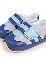 Baby Shoes Casual Fabric Fashion Sneakers Blue/Tan
