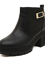 Women's Shoes Chunky Heel Heels Boots Outdoor Black/Brown