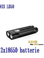 Fenix LD50 Senter LED XM - L2 U2 1800 Lumens 18650 CR123A Hitam