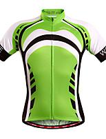 WOSAWE Summer  mountain Bike Short Sleeve Cycling Jersey Bicycle Shirts