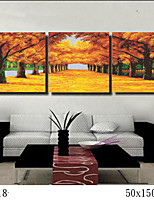DIY Digital Oil Painting With Solid Wooden Frame Family Fun Painting All By Myself   Deep Autumn  7018