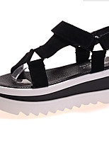 Women's Shoes  Platform Creepers Sandals Casual Black/Pink/Gray