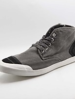 Men's Shoes Casual Fabric Fashion Sneakers Blue/Gray